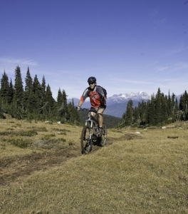 martha creek mountain downhill biking