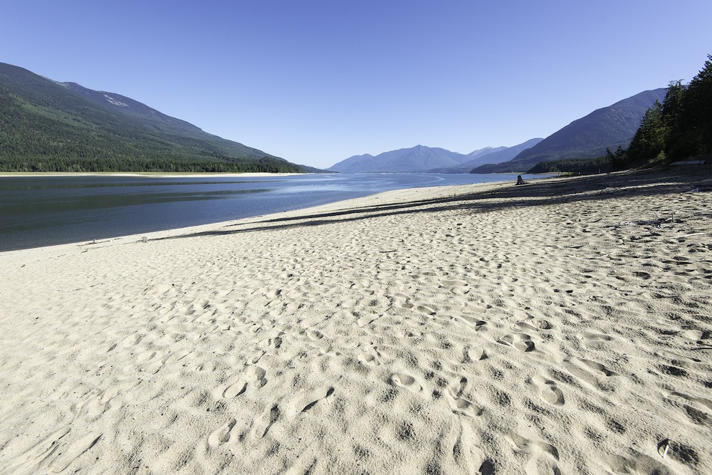 best beaches in bc