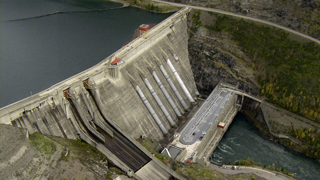 revelstoke dam powerhouse