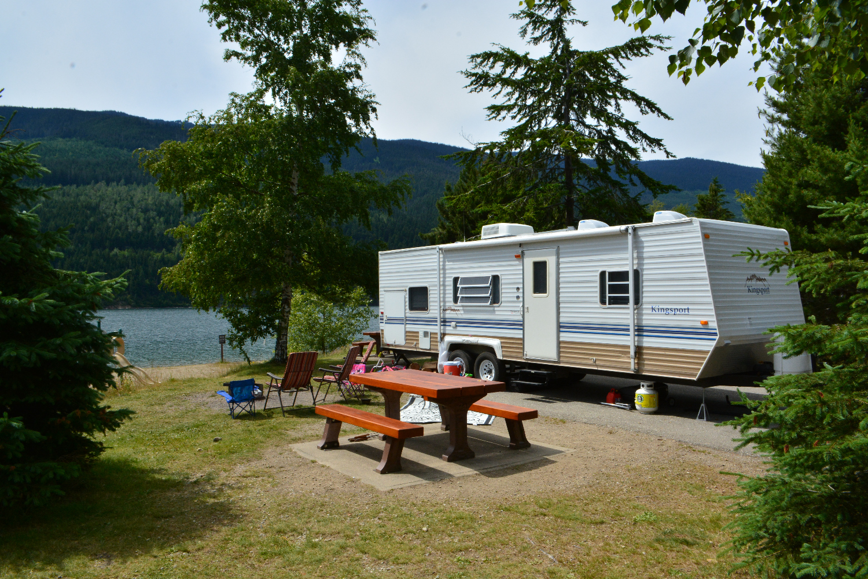 rv camping british columbia
