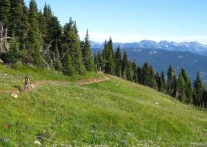 frisby ridge mountain biking