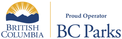 Proud Operator of BC Parks